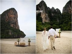 Buddhist Monk Blessing  + Thai Water Ceremony – Thailand Wedding – {Matt  + Donna}