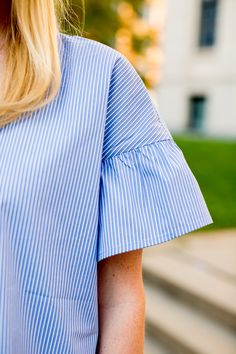 Flutter sleeve top. My favorite day-to-night look in collaboration with @jcpenney :) #SoWorthIt