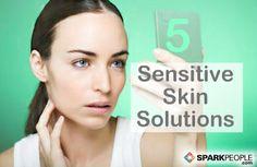 Sensitive Skin Solutions via @SparkPeople