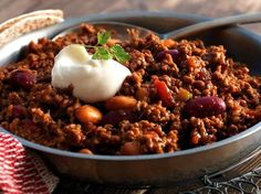 Mexican food recipes 318137161159680786 - Chili con carne au Thermomix Source by cookomix Cooking Dishes, Cooking Chef, Cooking Time, Mexican Breakfast Recipes, Mexican Food Recipes, Chili Recipes, Meat Recipes, Kitchenaid, Food Menu