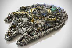 10000-Piece LEGO Millennium Falcon 1