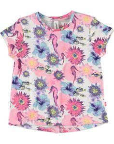 Babyface T-shirt printed multi-color - Babyface Meisjes T-shirt printed €19,95