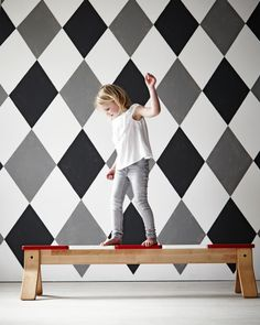 Living with children | Styling: Cleo Scheulderman | Photographer: Alexander van Berge | vtwonen july 2014 #vtwonen #magazine #interior #ikea #junior #balancebank #pscollection #grey #black #white