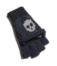 ZARA - KIDS - SKULL GLOVES