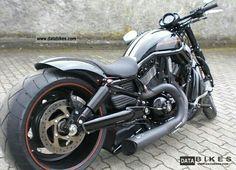 2011 Harley Davidson Night Rod Special CUSTOM Chopper Bike