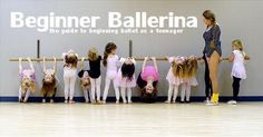 Beginner Ballerina: The Guide to Beginning Ballet as a Teenager #alvasbfm #beginnerballet #ballet #adjustablebarre #balletbarre