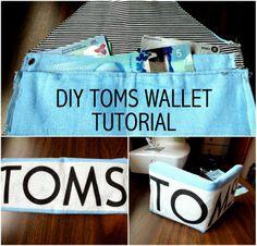 DIY Toms Wallet, Diy, Toms, Wallet