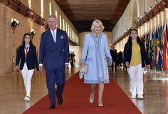 Camilla Parker Bowles Photos - The Queen and Senior Royals Attend the Commonwealth Heads of Government Meeting - Day One - Zimbio