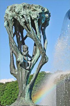 Oeuvre de Gustav Vigeland #Sculptures