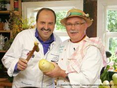 Kochen mit Freunden in der Manufaktur! Hier mit Johann Lafer! www.spreewald-kraeutermanufaktur.de