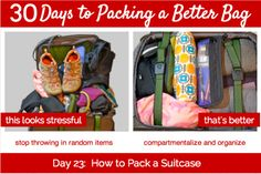 30 Days to Packing a Better Bag – Day 23:  How to Pack a Suitcase