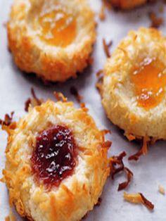 Ina Garten's Jam Thumbprint Cookies, LOVE LOVE LOVE these!