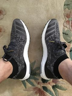 all black adidas shoes for kids adidas ultra boost uncaged core black on feet