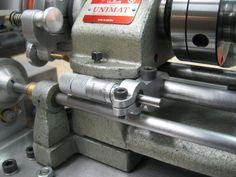 Unimat micrometer carriage stop