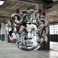Amazing Anamorphic Medusa - My Modern Metropolis