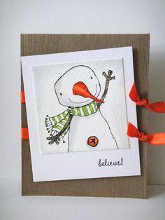 purpleoniondesigns - Stacey Yacula Studio - Berry (snowman), $7.00 (http://stores.purpleoniondesigns.com/stacey-yacula-studio-berry-snowman/)