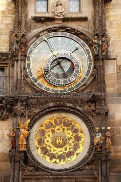 Prague, Old Town Square Hall clock