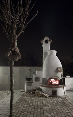 traditional outdoor artisan bread oven