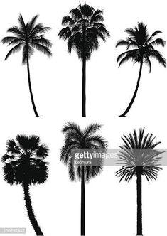 Six Incredibly Detailed Palm Trees Thin Line Tattoos, Tattoo Pierna, Frida Art, Amazing Spiderman, Cover Up Tattoos, Palm Trees, Line Art, Vector Art, Dandelion