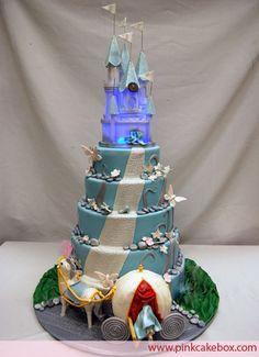 Fantasy Castle Cake