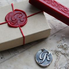 Wax seal and seal pendant