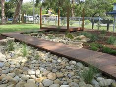 let the children play: dry creek beds in a preschool playscape