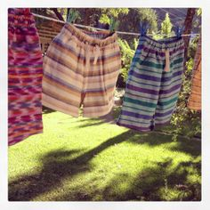 Best when you have one of each - Jed & Marne kids shorts. http://jedandmarne.com/shop/product-category/neen-yo-kids-shorts-and-dresses-handwoven-in-guatemala/neen-yo-unisex-kids-shorts-handwoven-in-guatemala/