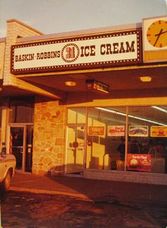 Old school...before it was ruined by Dunkin' Donuts.