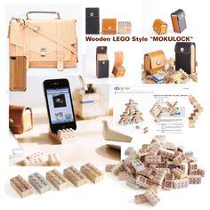 """""""Wooden LEGO Style """"MOKULOCK"""""""""""