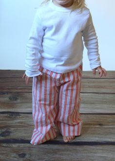 soft flannel lounge pants for girls boys toddler - handmade kids clothing by noah and lilahchristmasinjuly.