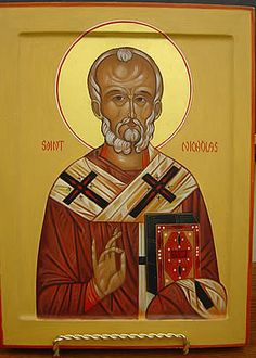 Writing a St Nicholas Icon - St. Saint Nicholas, Art Google, Culture, Baseball Cards, Writing, Crafts, Image, Google Search, Manualidades