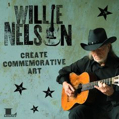 Create Commemorative Art for Willie Nelson Always On My Mind, Willie Nelson, Me Me Me Song, Country Music, Songs, Create, Art, Design, Music