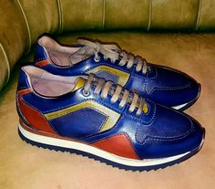 Blue casual shoes.. #exclusiveshoes#casualshoes#handmadeshoes