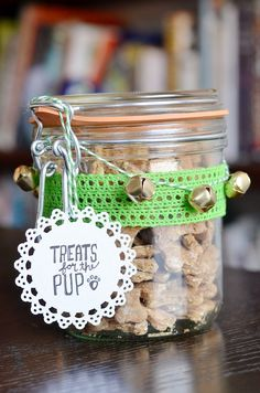 Everyone's BFF deserves some homemade goodies every now and then! Some of these treats can even help keep your pup cool in the hot temps.