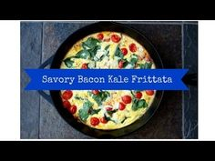 All the Good Blog Names are Taken » Savory Bacon Kale Frittata