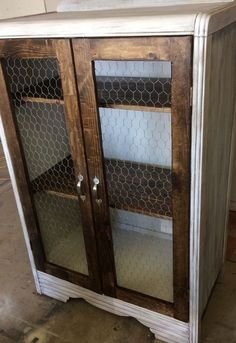 rustic cabinet from dresser