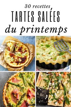Our best savory pies and quiches of spring - Savory quiches, savory pies, spring pie, vegetable pie - Vegan Breakfast Casserole, Vegan Breakfast Recipes, Vegan Recipes, Cooking Recipes, Pizza Girl, Canned Blueberries, Vegetable Pie, Scones Ingredients, Vegan Blueberry