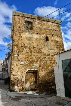 La Torre del Tío Bayo in the village of Albuñuelas, Lecrín Valley, Granada.