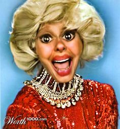 The ROOT article: she reveals African American Ancestry...you never know...we all have much more in common than we think....Carol Channing Charm