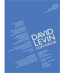 copywriter cv