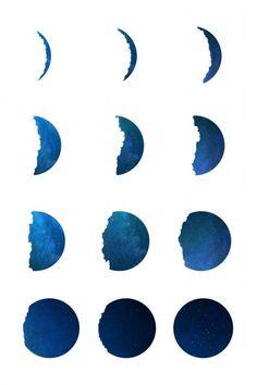 Poster - Fases da Lua II