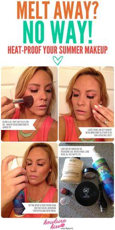 Melt Away? No Way! How To Heat-Proof Your Makeup For Summer - Kouturekiss - Your One Stop Everything Beauty Spot - kouturekiss.com.