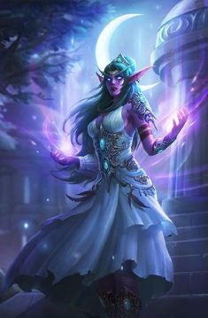 Tyrande from WarCraft / Heroes of the Storm