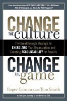 "A ""landmark guide to organizational culture change."""