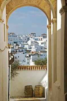 Andalusia Back parking spain Places Around The World, Oh The Places You'll Go, Places To Travel, Places To Visit, Around The Worlds, Mykonos, Santorini Greece, Santiago Do Cacem, Beautiful World