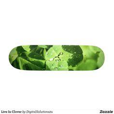 Live In Clover Skateboard Decks