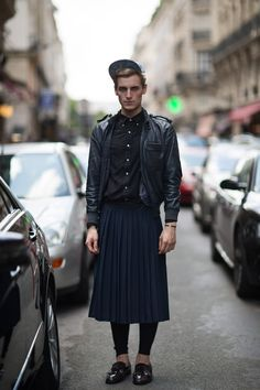 Never be afraid to wear a skirt