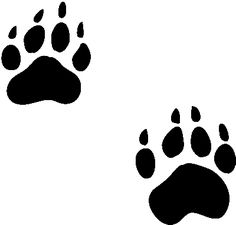 bearcat paw clip art bear paw tracks free cliparts that you can rh pinterest com bear paw border clip art polar bear paw print clip art