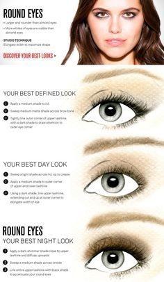 Change The Shape of Your Eyes by Lining Them Differently