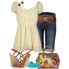 Totally a summer outfit for me!